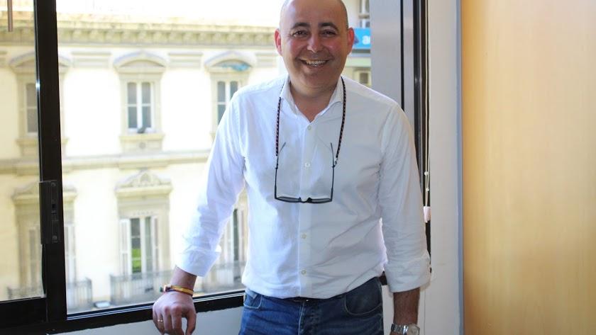 Domingo Fernández, alcalde de Huércal-Overa.