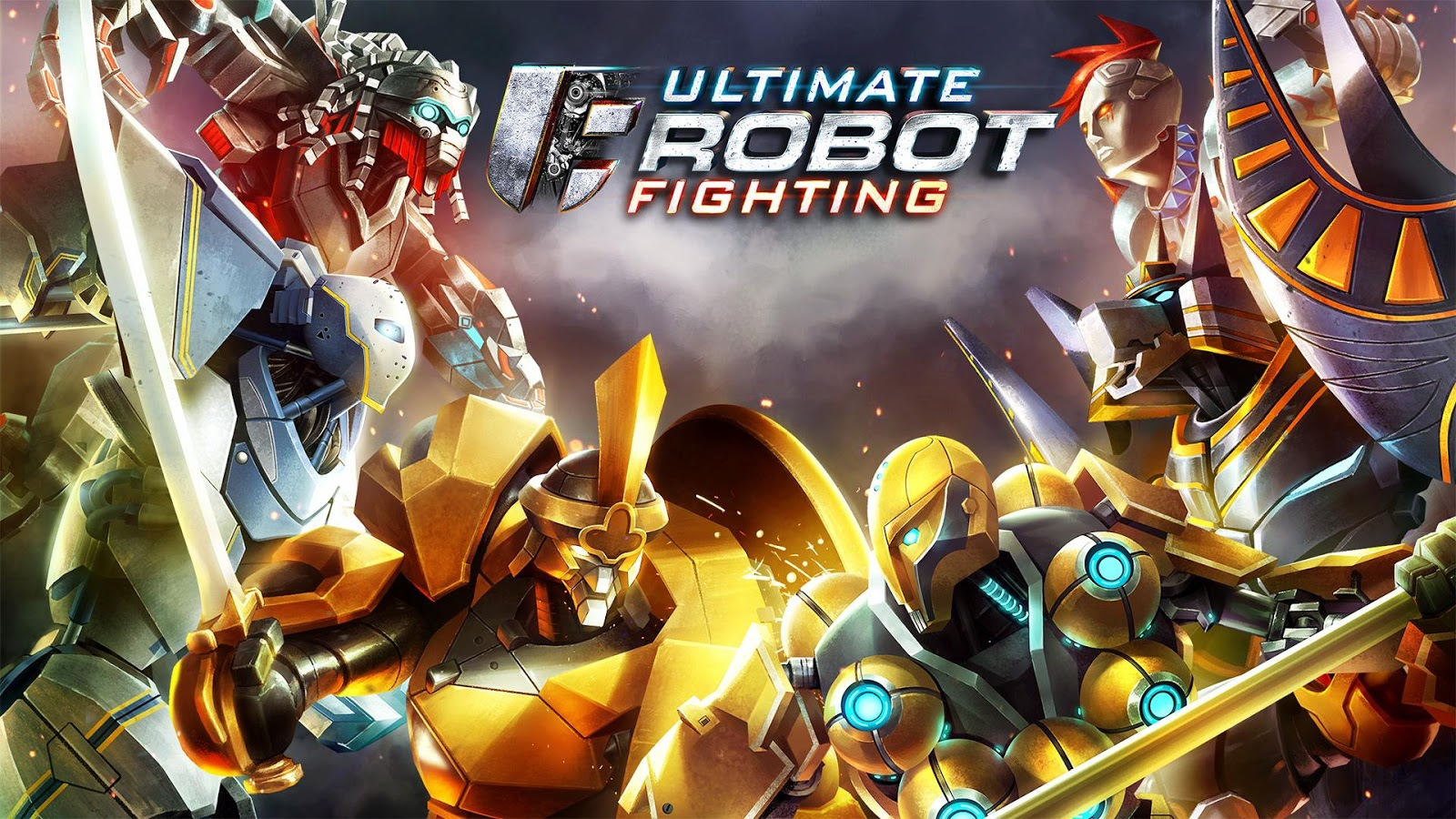 Ultimate Robot Fighting- screenshot