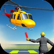 Helicopter Simulator 2018 - Plane Landing Game