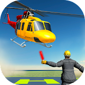 Helicopter Simulator 2018 - Plane Landing Game
