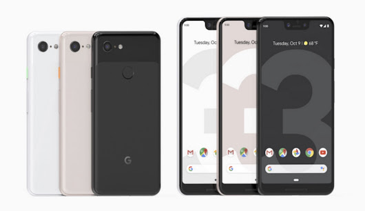 Google Announced Pixel 3 and Pixel 3 XL To Compete with Apple's iPhone XS and iPhone XS Max