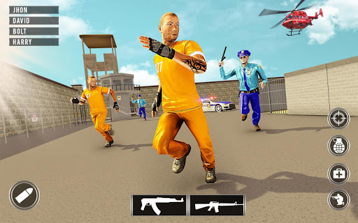 Gangster Prison Escape 2019: Jailbreak Survival screenshots 12