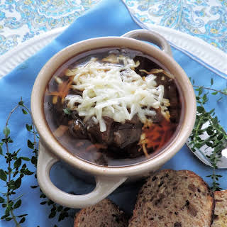 Overnight French Onion Soup.