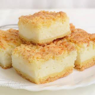 Cream Pie Bars.