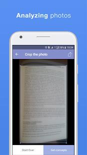 Conceptmeister: Free Document Summarizer - náhled