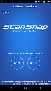 ScanSnap Connect Application. – Vignette de la capture d'écran