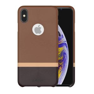 iPhone X stuffcool Leather Back Case Cover