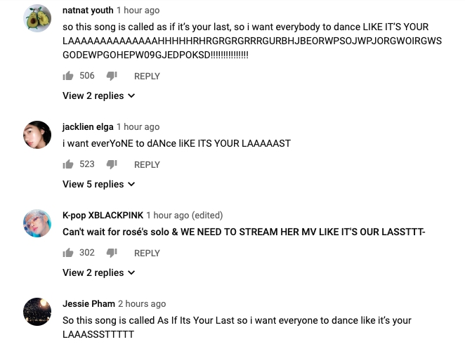 BLACKPINK COACHELLA COMMENTS