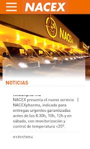 NACEX screenshot 0