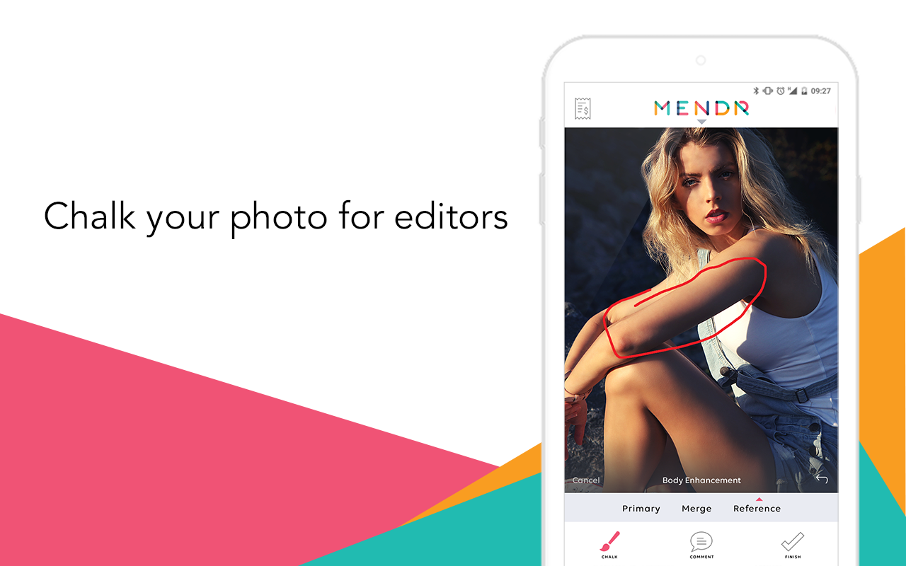 Mendr | Get your photos edited- screenshot