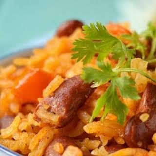 Dominican Republic -- Rice & Beans (Moro de Habichuelas).