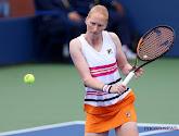 Alison Van Uytvanck heeft haar tweede ronde op de Australian Open verloren