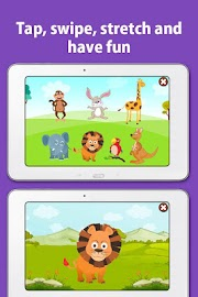 Kids Zoo,Animal Sounds & Photo Screenshot 4