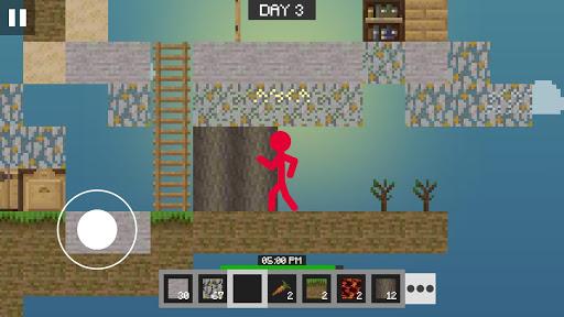 Stickman vs Multicraft: Skyblock Craft apkdebit screenshots 9