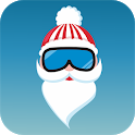 Santa Claus Skydiving: Free Christmas Game icon
