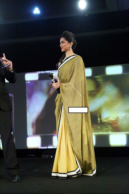 Deepika Padukone at event in saree
