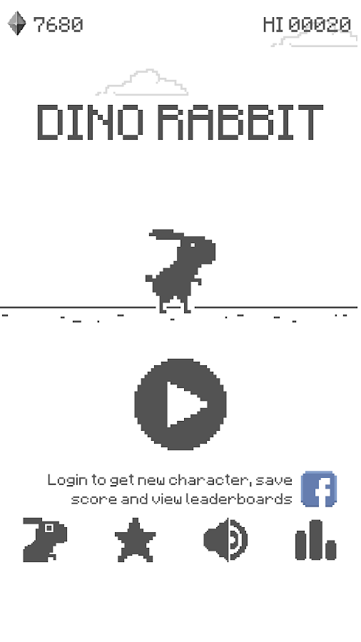 Dino Rabbit - The T-Rex Origins- screenshot