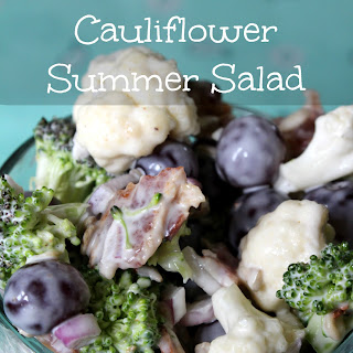 Broccoli Cauliflower Summer Salad