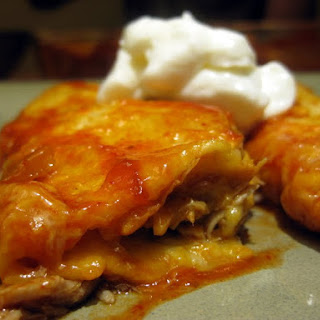 Slow Cooker Pork Enchiladas