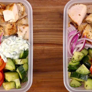 Greek Chicken Meal Prep.