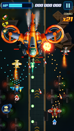 Infinity Strike - Space Shooting Idle Chicken  screenshots 4