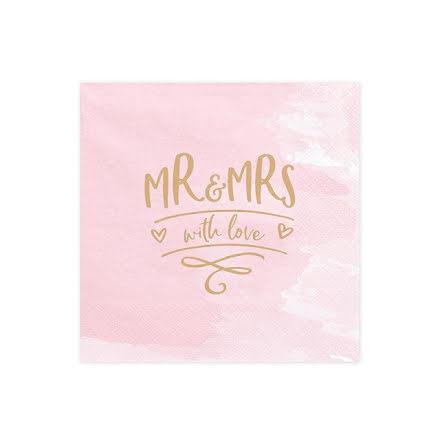 Servetter - Mr & Mrs