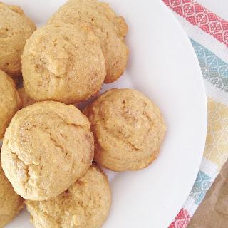 Fluffy Pumpkin Muffin Tops {vegan}