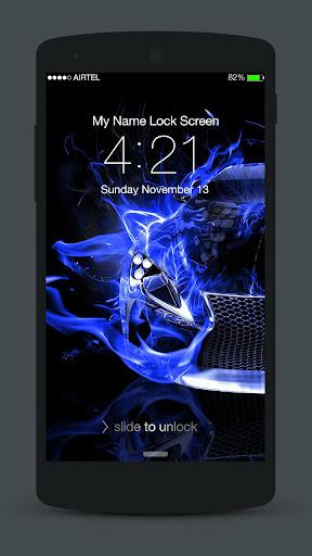 Neon Cars Lock Screen 3.0.2 screenshots 5