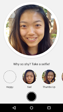 Selfied for Messenger - screenshot