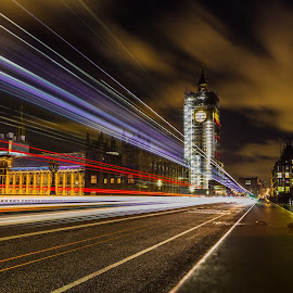 London by Gherasim Constantin - City,  Street & Park  Night