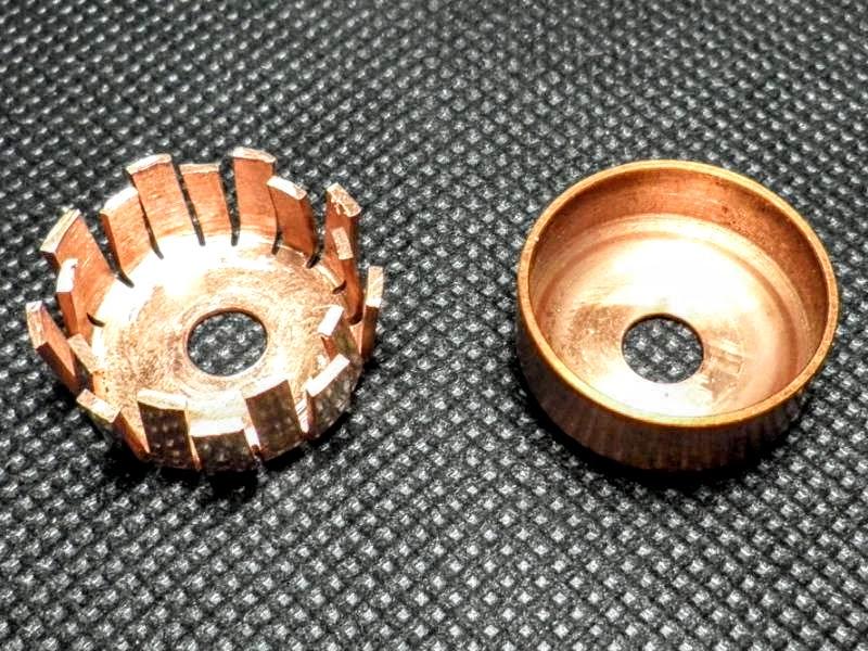 Cazoleta de refrigeración del fusor