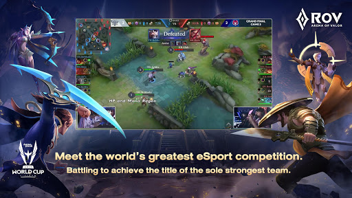Garena RoV: Mobile MOBA 1.30.2.5 screenshots 1