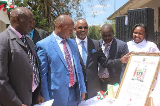 Kajiado launches own coat of arms