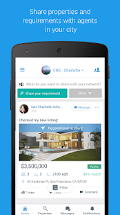 Agentdesks: Messaging app for real estate agents- screenshot thumbnail