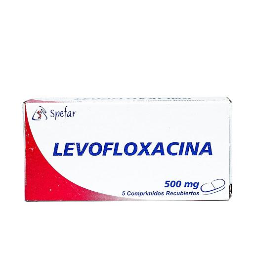 levofloxacina 500mg 5comprimidos spefar