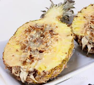 Decadent Filled Fresh Pineapple