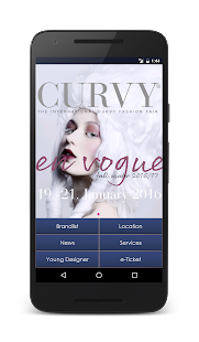 Curvy App- screenshot thumbnail