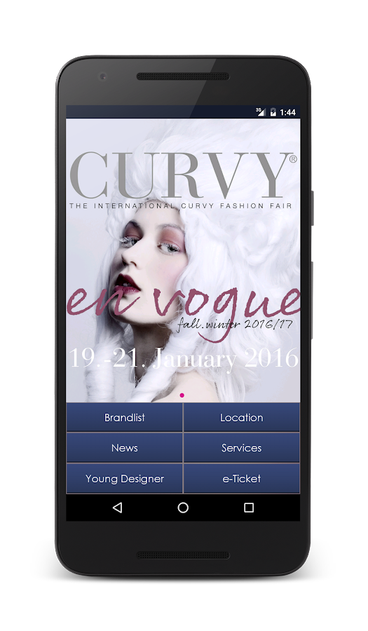 Curvy App- screenshot