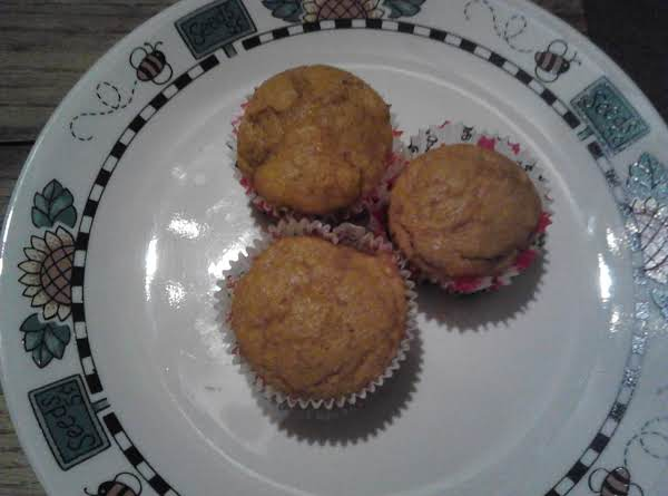 Yummy And Moist Pumpkin Muffins Recipe