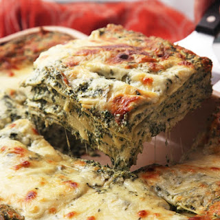 The Best Spinach Lasagna.