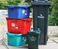 Only the black bins will be collected this week