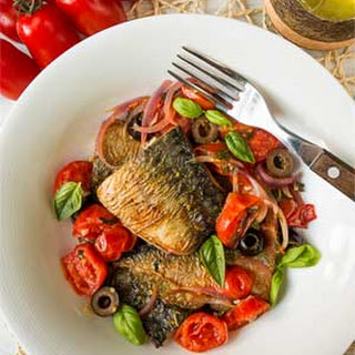 Mediterranean Fried Mackerel