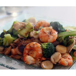 Shrimp & Broccoli Stir - Fry