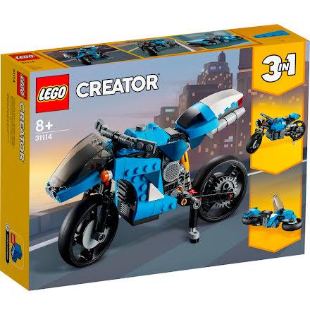 Lego Creator Supermotorcykel