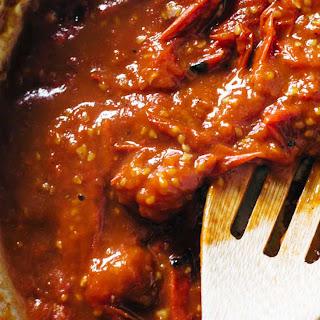 Basic Garlic Butter Tomato Sauce.