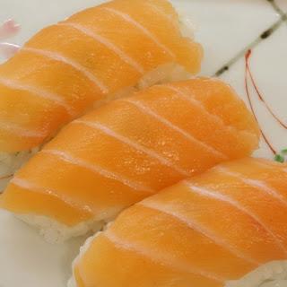 Sushi, Hold the Parasites - Homemade Salmon Sushi Nigiri and Rolls.
