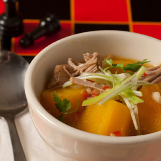 Hot and Sour Pork and Pumpkin Soup