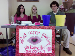 Photo: Students from the Monmouth University Biology Honor Society did a fundraiser on Valentine's Day 2011 benefitting our foundation