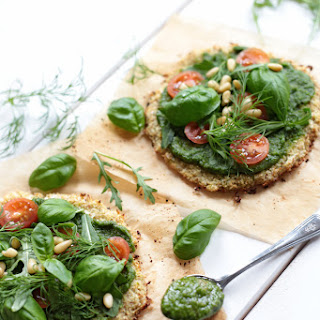Mini Cauliflower Pizza.