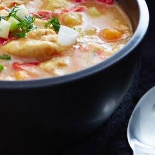 Crock-Pot Chicken Stew with Potatoes.